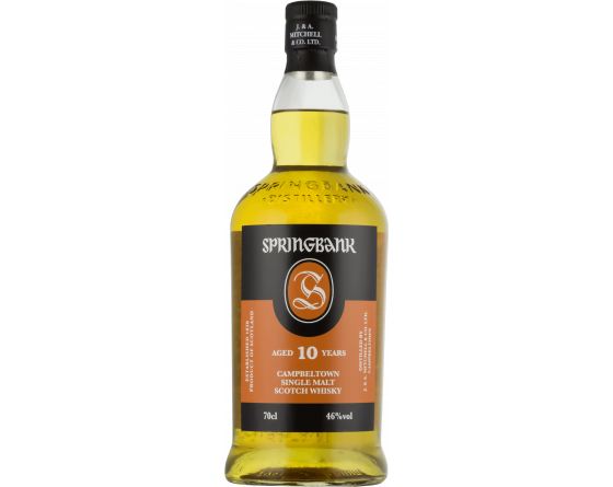 Springbank 10 ans - Campbeltown Single Malt Scotch Whisky - La Cave du Vigneron Toulon